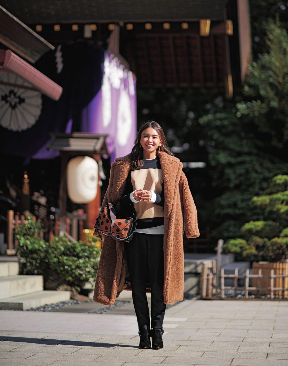 滝沢眞規子の初詣画像