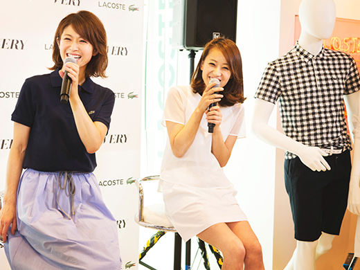 LACOSTE×VERY 畑野ひろ子 SPECIAL TALK SHOW After Report!