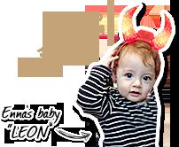 Enna's baby LEON